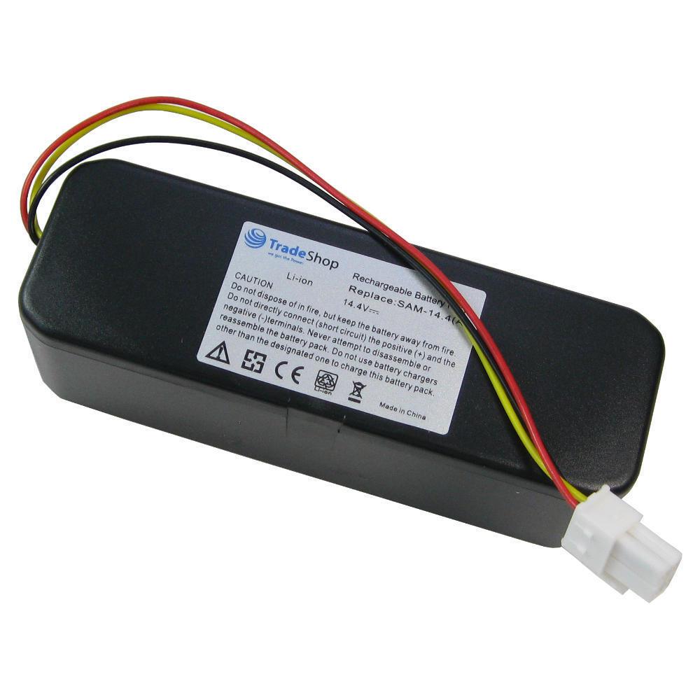 2x Li-Ion Akku 14,4V 4500mAh für Samsung Navibot SR8730 SR8750 VR10 SR8825 SR882