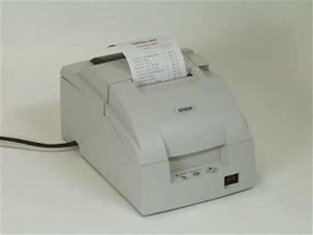 Epson TM-U220B POS Dot Matrix Receipt Printer - Parallel - TM-U220 - M188B