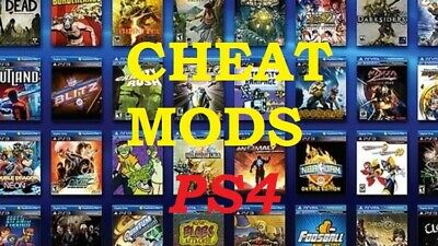 Ps4 Cheat Mods Savegames Click Make Offer If You Want A Better