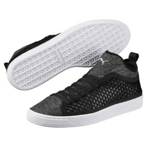 Puma-Basket-Classic-Netted-Mens-Trainers-Stylish-Sneakers-Shoes-UK-8-10-RRP-80