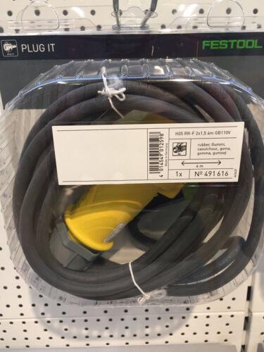 FESTOOL PLUG IT plomb 110 V de remplacement 491616 Câble pour FESTOOL 203927