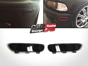 Smoke-Front-Bumper-Reflector-Fits-00-03-BMW-E46-2D-Coupe-Cabrio-01-06-E46-M3