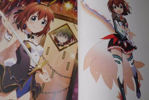 "Art Book JAPAN Social Network Game /""Battle Girl High School/"" Official Artworks"