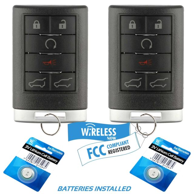 2 Car Key Fob Remote Control For 2007 2008 2009 2010