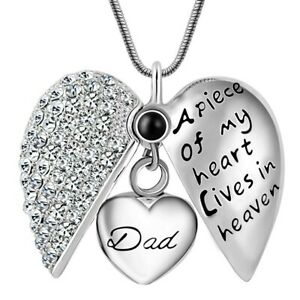 Dad-Father-Keepsake-Heart-Cremation-Urn-Pendant-Ashes-Necklace-Funeral-Memorial