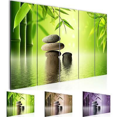 Wasserfall Bild Feng Shui Modern Edel Poster Leinwand XXL 160 cm*80 cm 679
