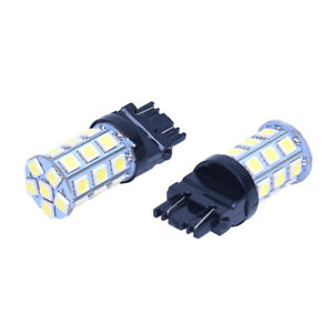 2x-T25-W21-5W-3157-7443-XENON-White-27-5050-SMD-LED-BULB-12V-lamp-CAR-light-H7U5