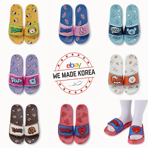 BT21 Character Vel Slipper Women Sandals 7types Official K-POP Authentic Goods