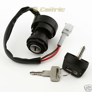 Caltric NEW IGNITION SWITCH Fits YAMAHA Grizzly YFM125 YFM 125 ATV 2004-2013