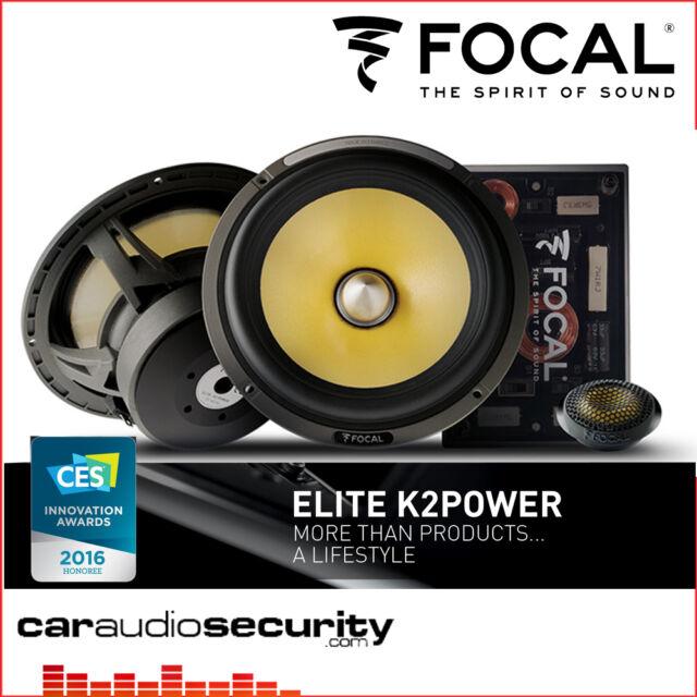 """Focal ES165K2-ELITE K2 potencia 6.5"""" altavoces de componente 16.5cm 2-Way"""