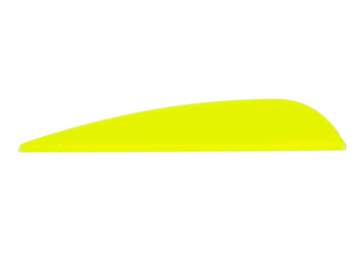50 x AAE Arizona Elite Vanes plastifletch ep-23 FRECCIA MOLLE PLASTICA GIALLO