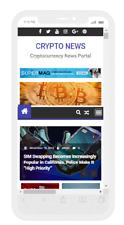 Crypto News Website Live Cryptocurrency Prices Affiliate Income Hosting Setup