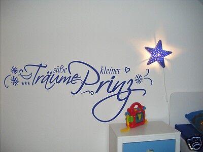 Kücük Prens Kleiner Prinz Name Kinderzimmer Baby WandTattoo Wandaufkleber