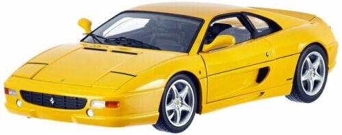 Ferrari F355 Berlinetta 1 18 Die Cast Model Yellow By Hot Wheels Elite X5479 Günstig Kaufen Ebay