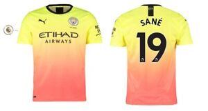 Manchester City F.C Sane 19 Trikot Herren 2019-2020 Away PL