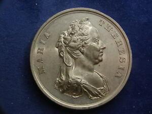W 100 J Zinnmedaille 1862 V Pittner Neustädter Militärakademie W/18/30