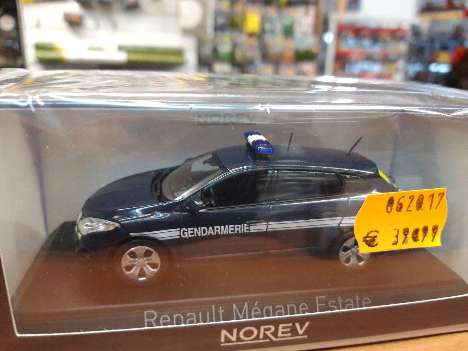 Miniature norev 1 43   police gendarmerie   Megane estate 2012 517647