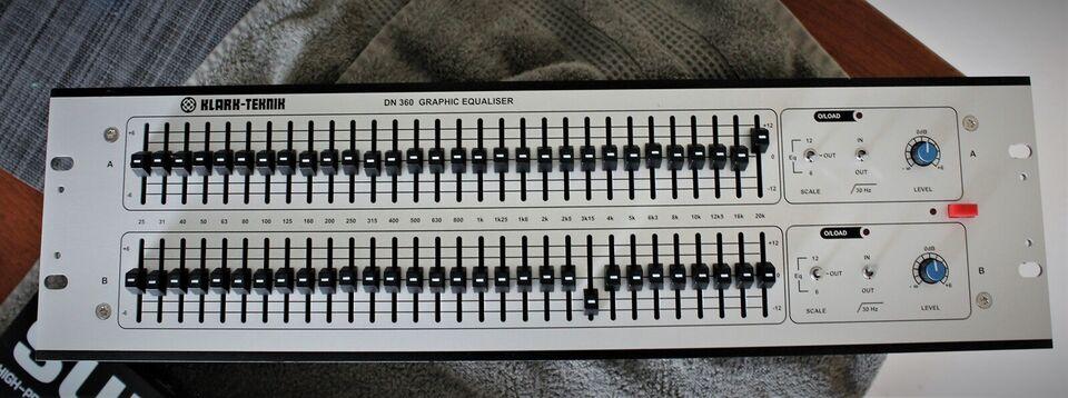 Klark DN360 Equaliser, Klark-Teknik DN360