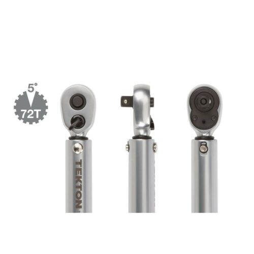 Drive Torque Wrench 10-150 in.//lb Click Type 1//4 in Reversible Ratcheting Head