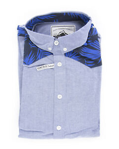 44e73fe4 Details about Penfield Men's Blue Chambray Southwood Long Sleeve Shirt $80  NEW