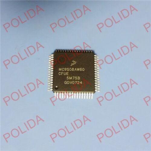 1PCS MCU IC FREESCALE//MOTOROLA QFP-64 MC9S08AW60CFUE MC9S08AW60CFUER MC9S08AW60