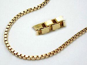 45 cm ECHT GOLD *** Kette Schlangenkette 40-42