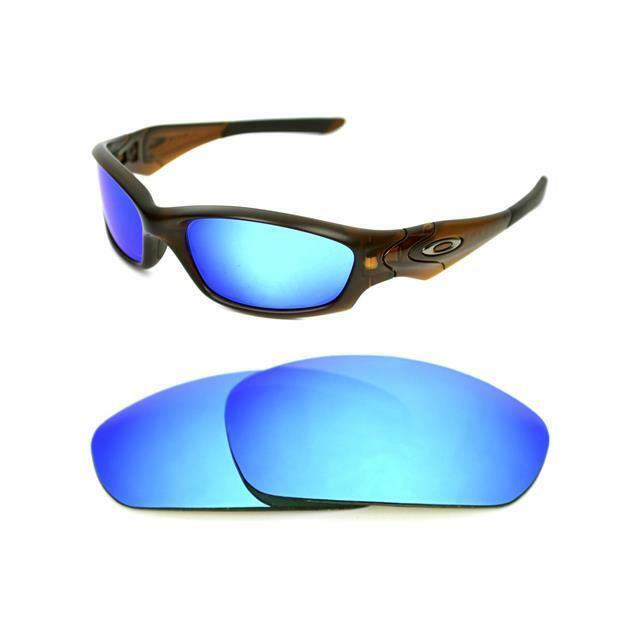 82a38185b3767 Polarized Custom Ice Blue Lens for Oakley Straight Jacket 2007 Sunglasses  for sale online