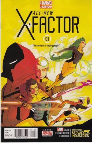 MARVEL COMICS ALL NEW X-FACTOR #1 PETER DAVID