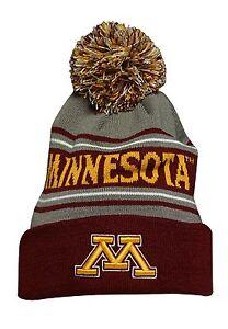12b4d277 Image is loading Bridgestone-Golf-Minnesota-Golden-Gophers-NCAA-Beanie-Cap-