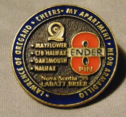 1995 Nova Scotia Labatt Brier Curling 8 Ender CFB Halifax Dartmouth Pin Lapel
