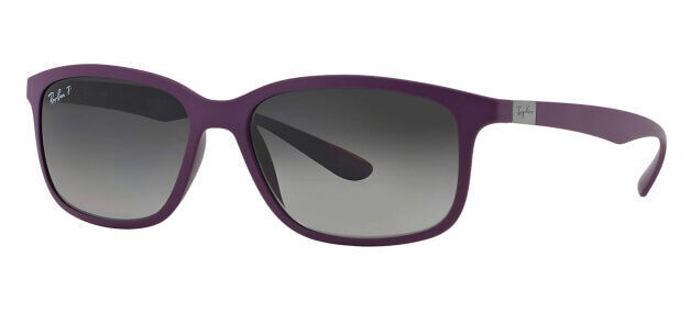 f79350a0bb0 Ray-Ban Tech Liteforce Polarized Rb4215 Mens Women Square Sunglasses Violet  Grey for sale online