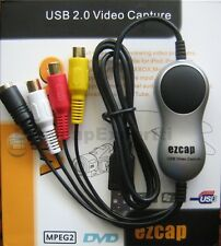 EzCAP USB VIDEO CAPTURE CARD EzCAP116, Win7/Win8/Win10 - HD size video to YT