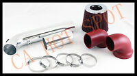 95-97 Camaro/firebird V6 3.8 Cold Air Intake System W/ Filter - Red