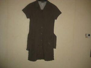 Details zu Jack Wolfskin Damen Kleid Gr.36 Khaki Outdoor Kleid