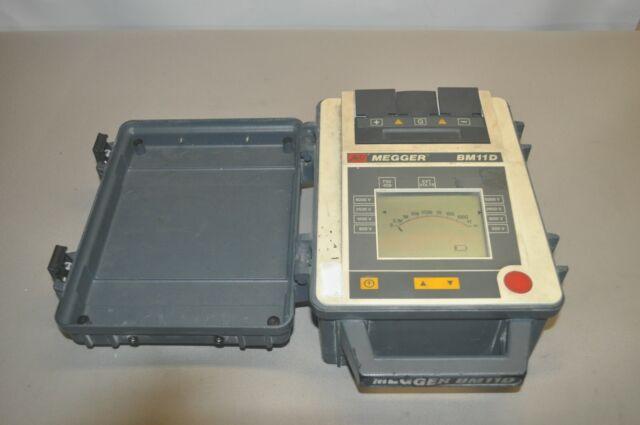 Avo Megger Bm11d 5kv Insulation Resistance Tester Used Free Shipping For Sale Online