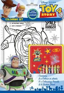 Disney-Pixar-Toy-Story-4-Colouring-Set-Childrens-Activity-Stickers-Party-Gift