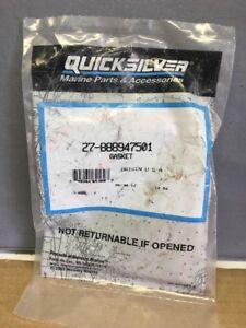 New Mercury Mercruiser Quicksilver Oem Part # 27-881612 Gasket