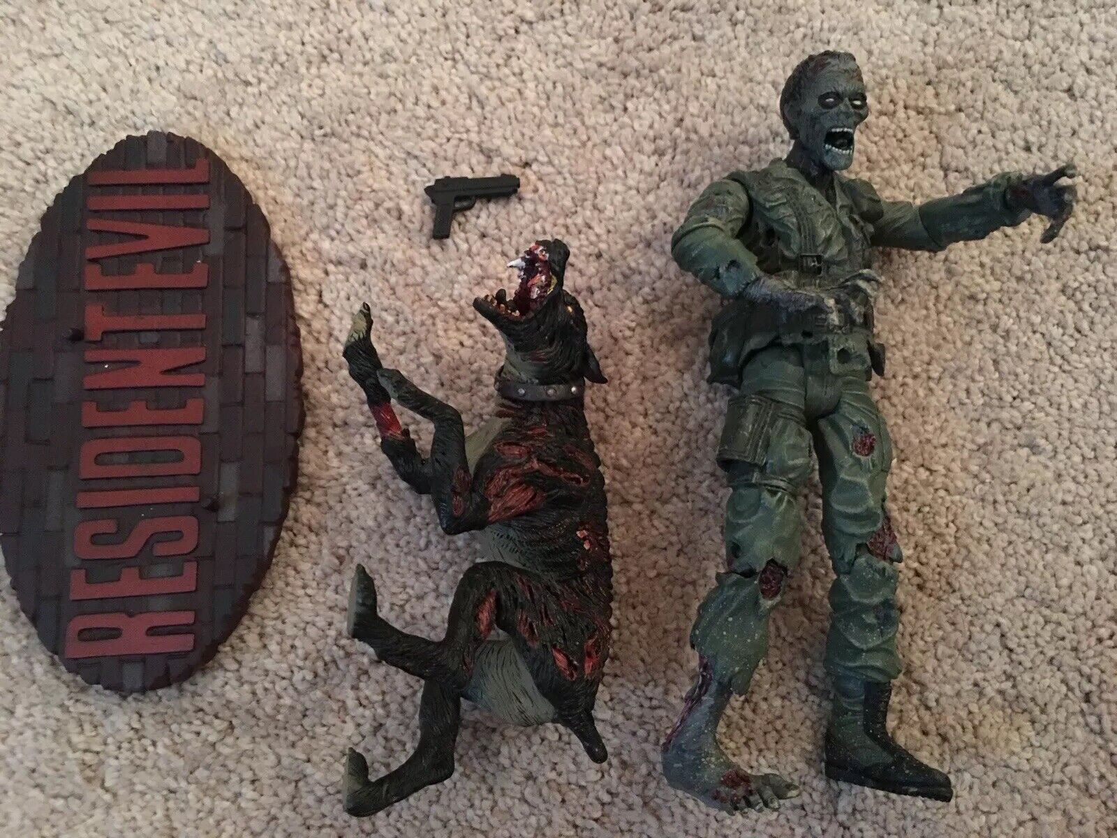 Resident evil evil evil palisades soldier zombie (without box) c9b63f