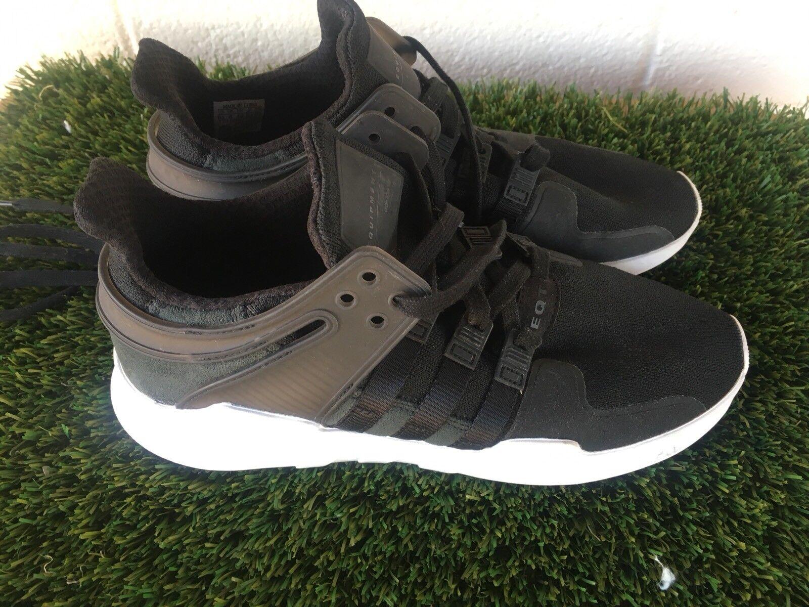 Mens adidas eqt appoggio avanzata nero scarpe bianche bianche bianche misura 8,5 o 42 euro | Cliente Al Primo  | Uomini/Donne Scarpa  fc952a
