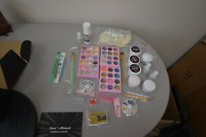 morovan glitter acrylic nail kit with basic nail art tools