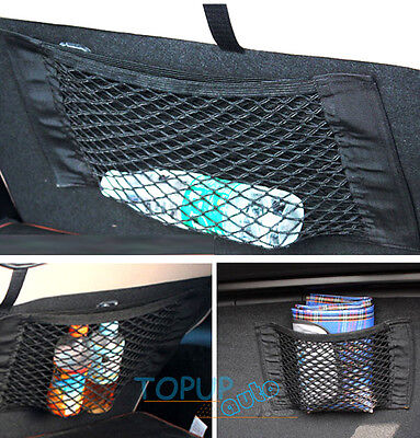 CAR REAR SEAT BACK SIDE TRUNK CARGO NET MESH ORGANIZER CAGE STORAGE POCKET BAG
