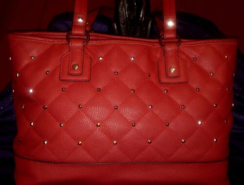 Large Bag Akzente Dana Groe Buchman ~ Tasche Tote Look Stud 16 Metal Accents Quilted Akzent SvPW8Rqvd