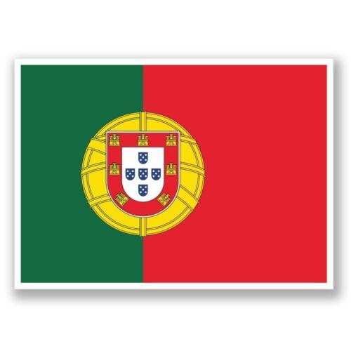 2 X Portugal Lisboa Pegatina de vinilo Laptop Equipaje de Viaje #4373