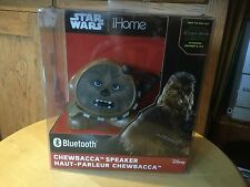 New  Disney Star Wars iHome Darth Chewbacca Bluetooth Speaker.  Li-B66C7.FX