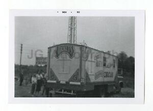 Clyde Beatty-Cole Bros. Circus - Vintage Snapshot - Wilmington, DE, 1960