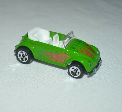 Hot Wheels Holiday Rods Green Volkswagen Bug w//Real Riders