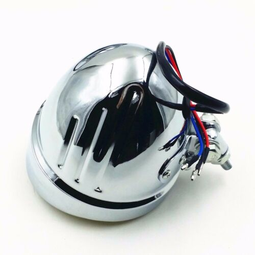 60W //55W High //Low Beam Head Light Headlight Lamp Bobber Chopper Cruiser Tourin