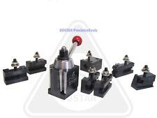 Bostar Bxa 250 222 Wedge Type Tool Post Set Lathe10 15 W 2 Extra Tool Holders
