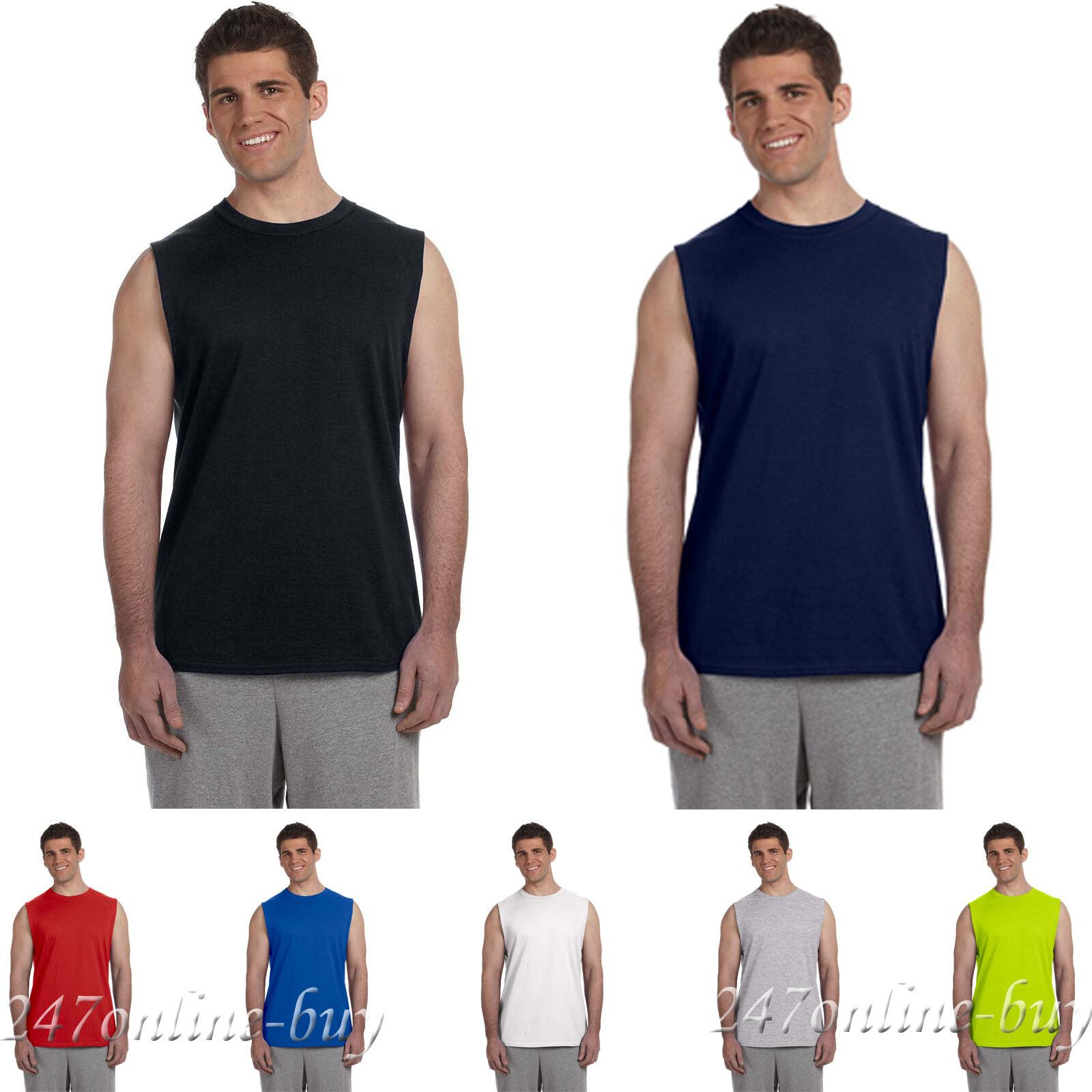 Gildan Ultra Cotton Sleeveless T-Shirt 2700 S-2XL