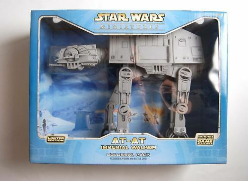Star Wars ATAT Imperial Walker Colossal MISB new Retired.